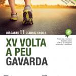 La UCV participa en la «XV Volta a peu a Gavarda»