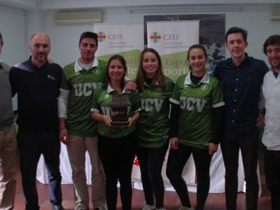 equipo golf UCV