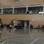 Ganas e ilusión vs experiencia en el CADU de Badminton
