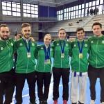 El equipo de Karate se alza con 5 medallas