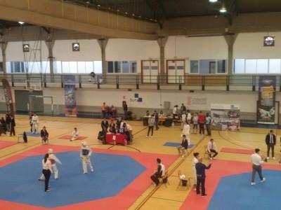 La UCV medallista en taekwondo