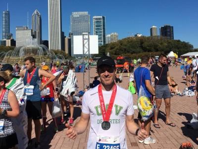 David Martínez maratón chicago