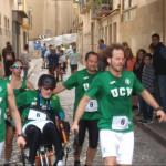 La UCV participa en el I Campeonato de España de Joëlette