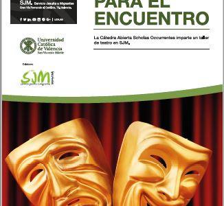 Cartel Teatro para el encuentro