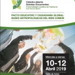 II CONGRESO INTERNACIONAL.  Pacto educativo y ciudadanía global: Bases antopológicas del bien común.