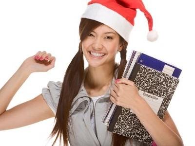 Estudio en Navidad