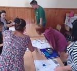 Fotograma de una actividad didáctica en la Jornada de Actualización con motivo del Día Internacional de la Terapia Ocupacional