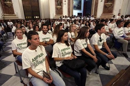 Oracion UCV  (Foto: AVAN // Alberto Sáiz)