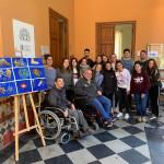 Exposición de Pintura con la Boca por Francisco Planells