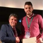 Premio a la mejor comunicación científica al alumno Carlos Millán